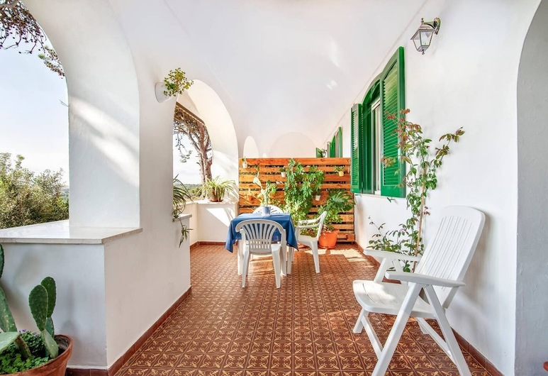 Bilocali Vista Mare, 聖切薩雷亞泰爾梅, 公寓, 陽台, 露台