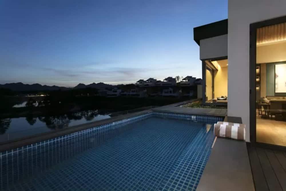 Royal-villa - 2 soveværelser - søudsigt - Privat pool