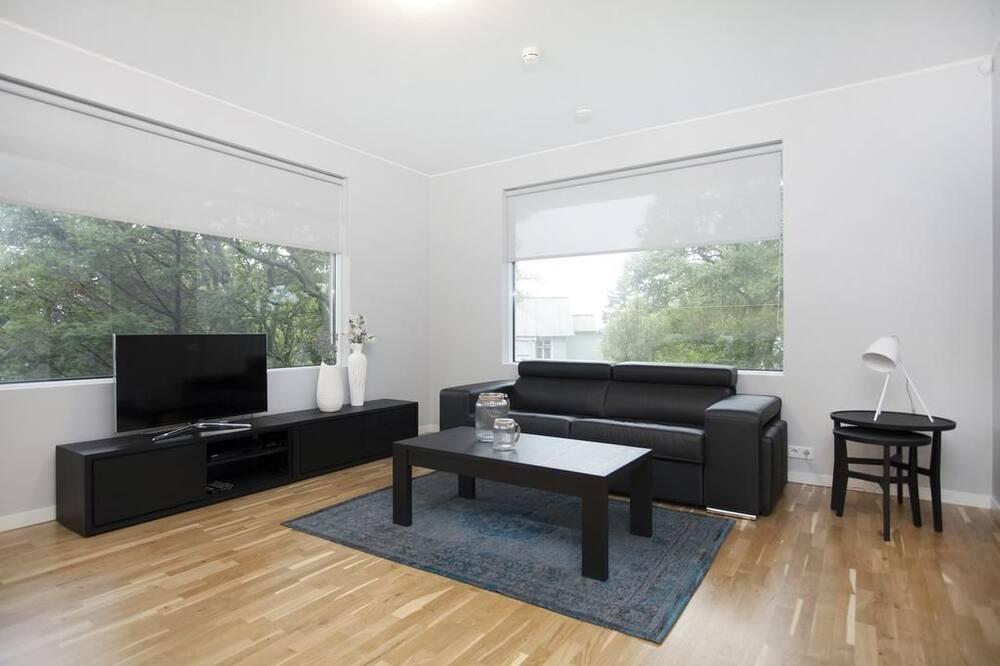 Apartmán typu Deluxe, 2 spálne, balkón - Obývacie priestory