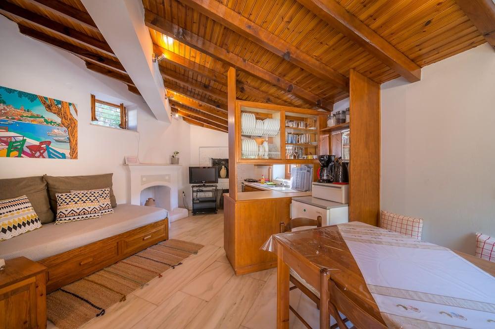 House, 1 Bedroom, Garden View - Living Area
