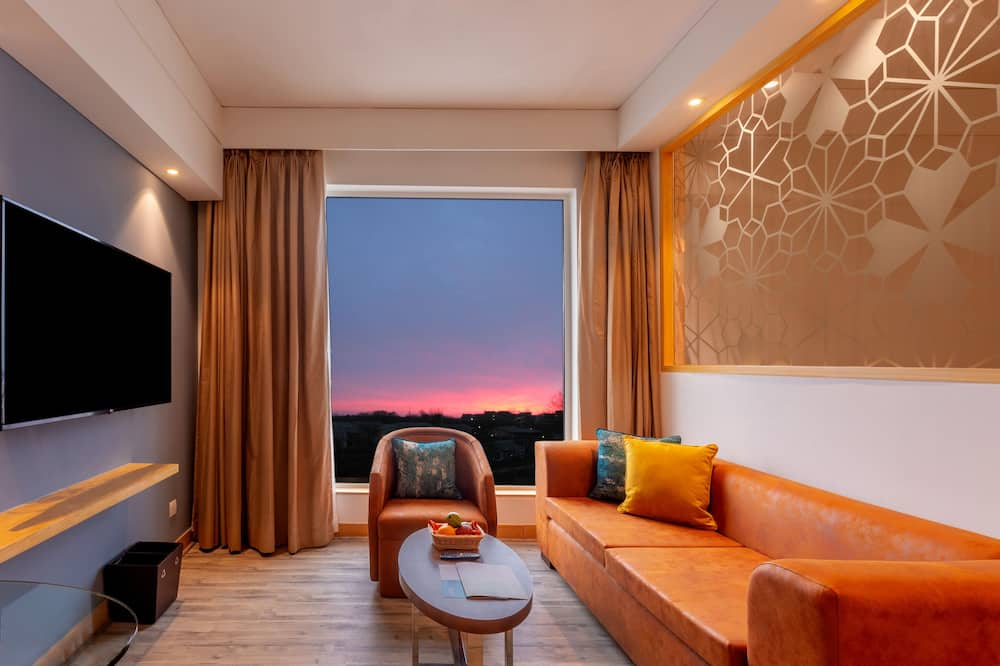 Apartament typu Executive Suite, Łóżko podwójne, dla niepalących (Executive Lounge Access) - Salon