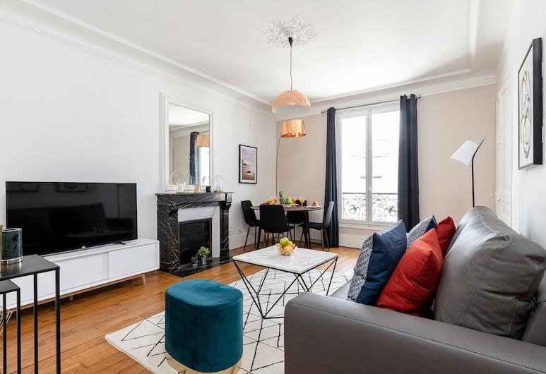 Quartier Latin Pantheon Apartment , Paris, (49) Carmes, Vardagsrum