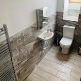 غرفة مزدوجة كلاسيكية - بحمام داخل الغرفة - بمنظر للبحر (1st Floor) - حمّام