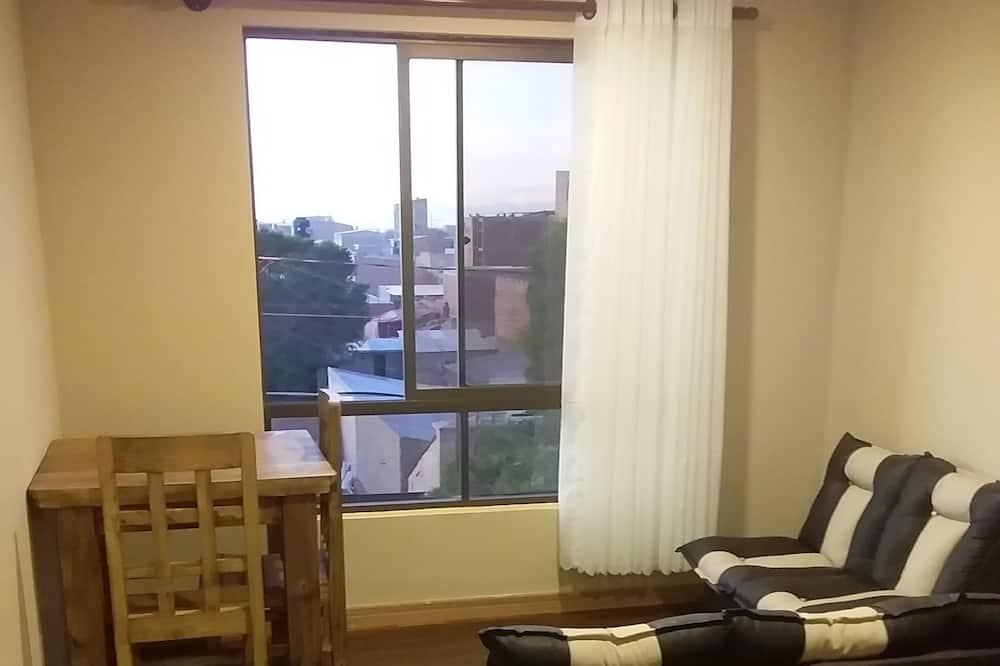Doppelzimmer, 1 Doppelbett - Wohnbereich