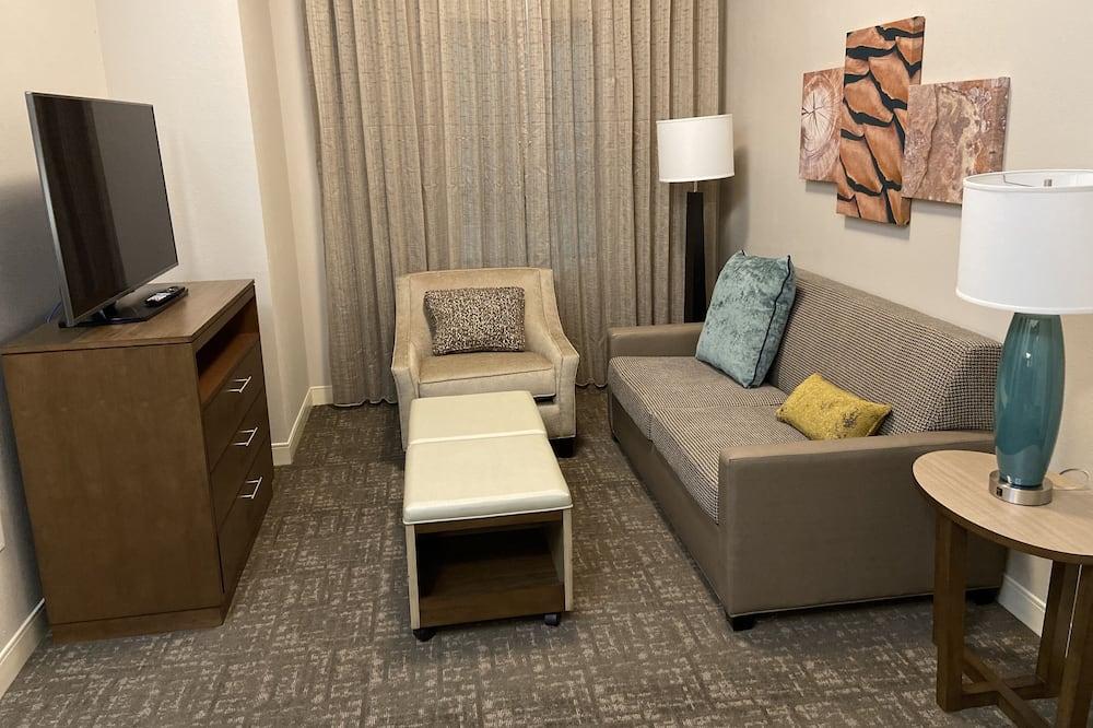 Studijas tipa luksusa numurs, 1 divguļamā karalienes gulta, nesmēķētājiem (Hearing) - Dzīvojamā istaba