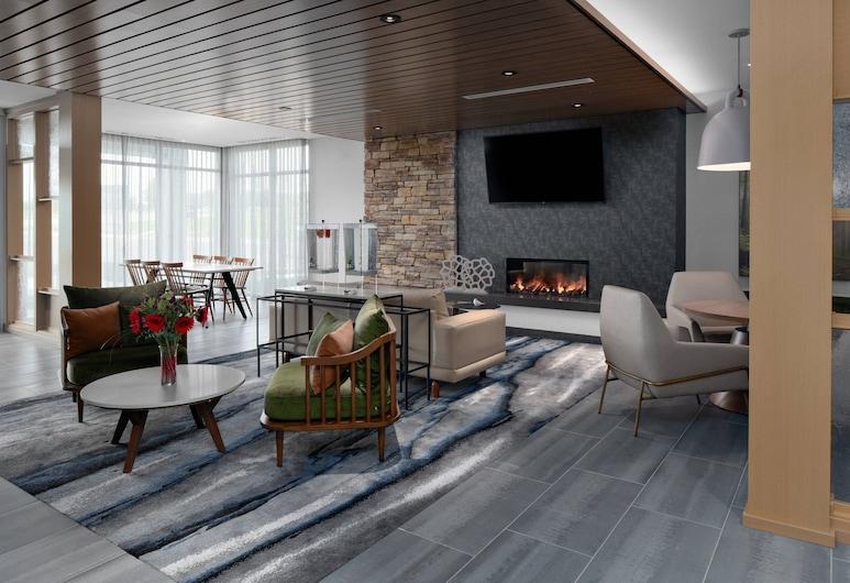 Fairfield Inn & Suites by Marriott Lake Geneva, Genfer See, Sitzecke in der Lobby