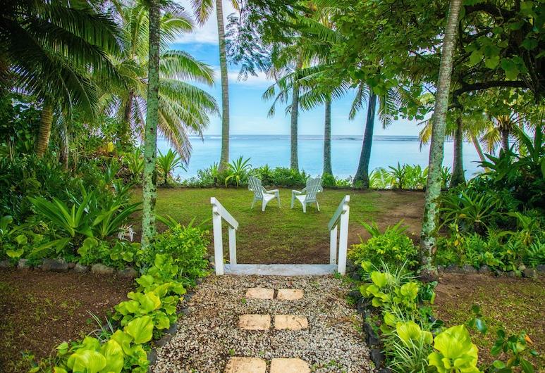 Natura Pandanus Villa, Rarotonga, Private kitchen