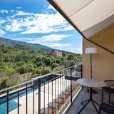 Chambre, terrasse (Prestige) - Vue sur les montagnes