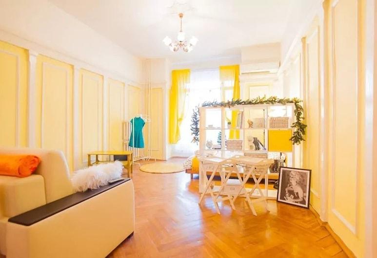 Apartment on Bolshoy Gnezdnikovskiy Pereulok 10, Moskwa, Apartament, Pokój