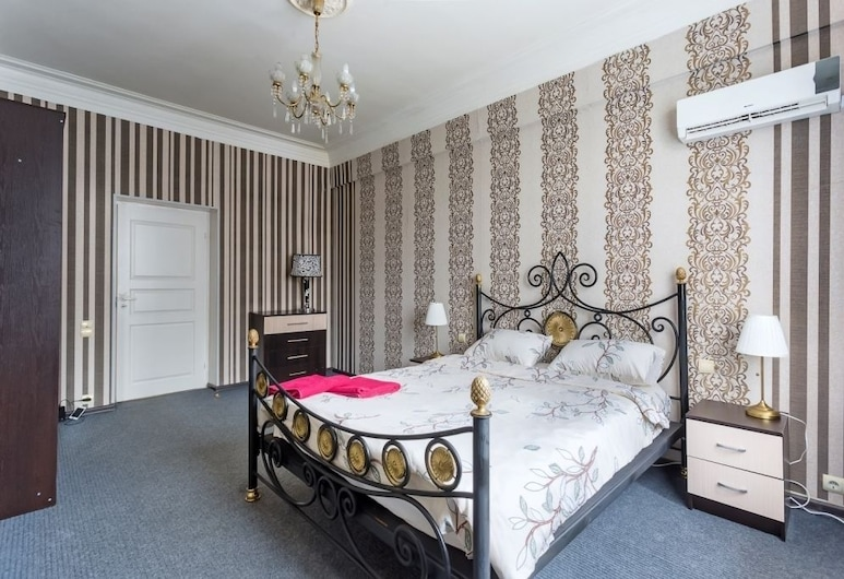 Apartment on Smolenskiy bulevard 3, מוסקבה, דירה, חדר