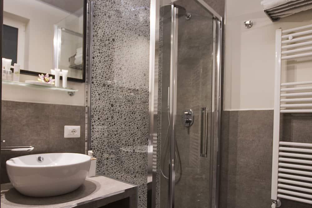 雙人房, 露台 - 浴室