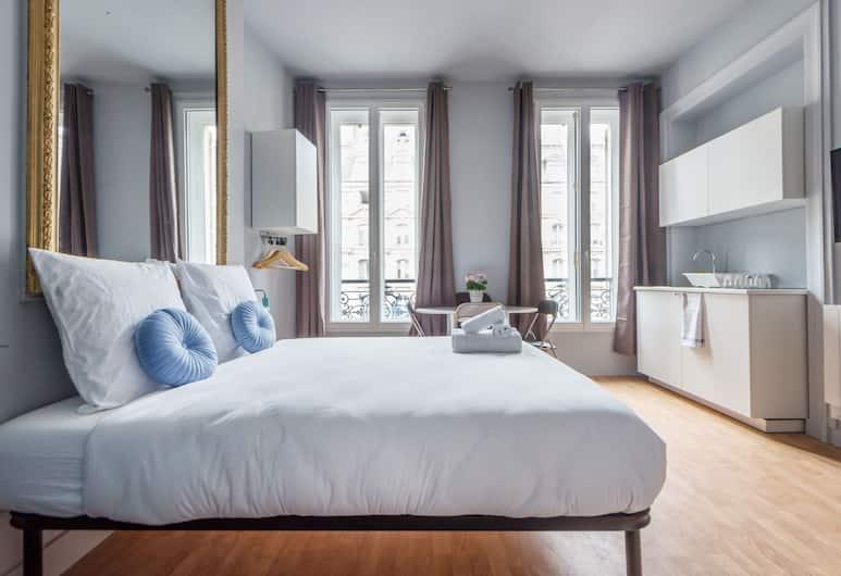 Appartement WS Grands Boulevards - Opera, Parigi, Appartamento Classic, 2 letti matrimoniali, non fumatori, Camera