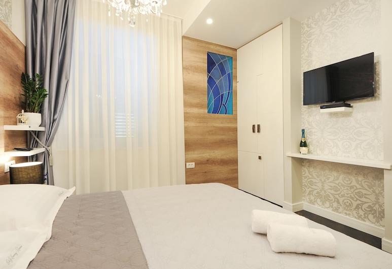 Silver & Gold Luxury Rooms, Zadar, Deluxe Tek Büyük Yataklı Oda, Oda