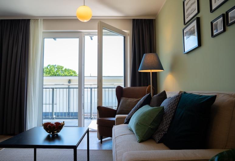 Jimmy's Apartments 11, Vienna, Apartment, 1 Bedroom, Balcony (36m2), Living Area