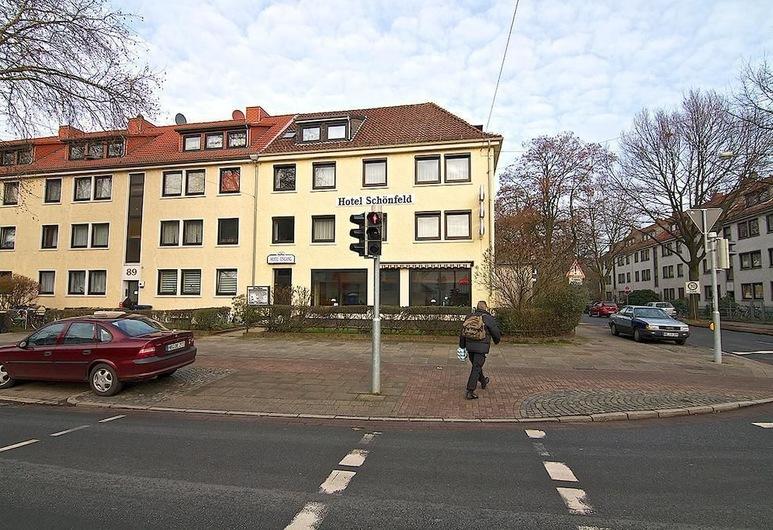 Schönfeld, Bremen, Façade de l'hôtel