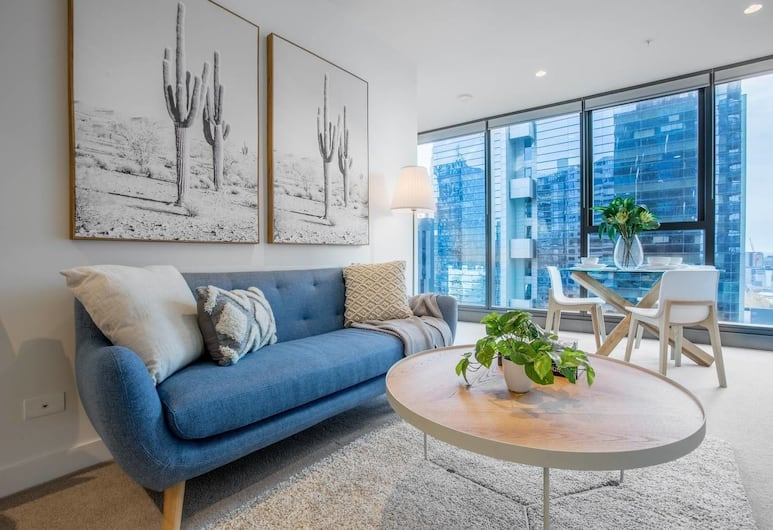42 Blue Muses, Melbourne, Living Room
