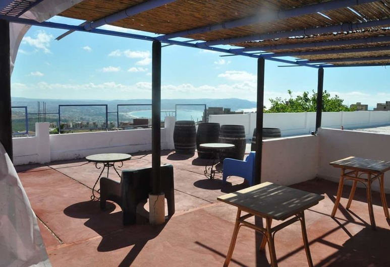 Dar Almaram, Tanger, Terrasse/Patio
