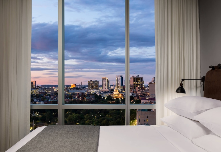 Moxy Boston Downtown, Boston, Room, 1 Queen Bed, Non Smoking, City View (Center Stage), Guest Room