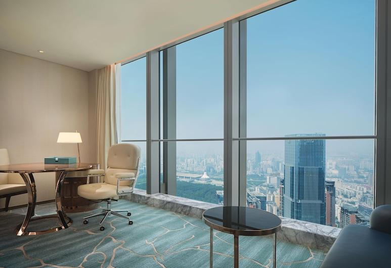 โรงแรมนา โลตัส โรงแรมในเครือลักซ์ชัวรีคอลเลกชั่น นานหนิง, หนานหนิง, ห้องซูพีเรีย, เตียงใหญ่ 2 เตียง, ปลอดบุหรี่, วิวเมือง, ห้องพัก