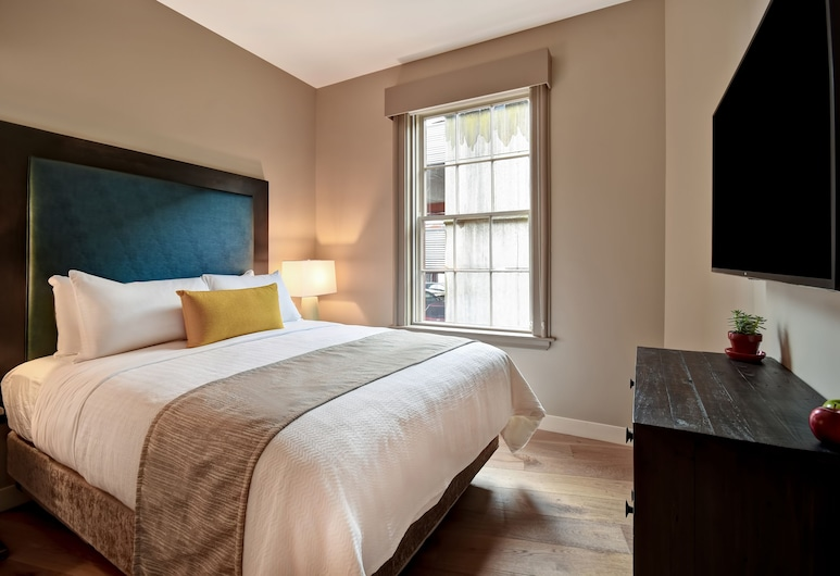 121 MIDDLE an urban inn, Portland, Departamento urbano, 1 cama Queen size con sofá cama, Habitación