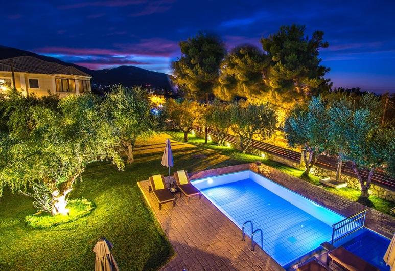 Olive Luxury Stone Villas, Ζάκυνθος, Βίλα, 3 Υπνοδωμάτια, Ιδιωτική Πισίνα, Δωμάτιο