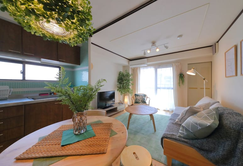 Onehome Inn Tennouji 602 702 703, 大阪市, 602, リビング エリア