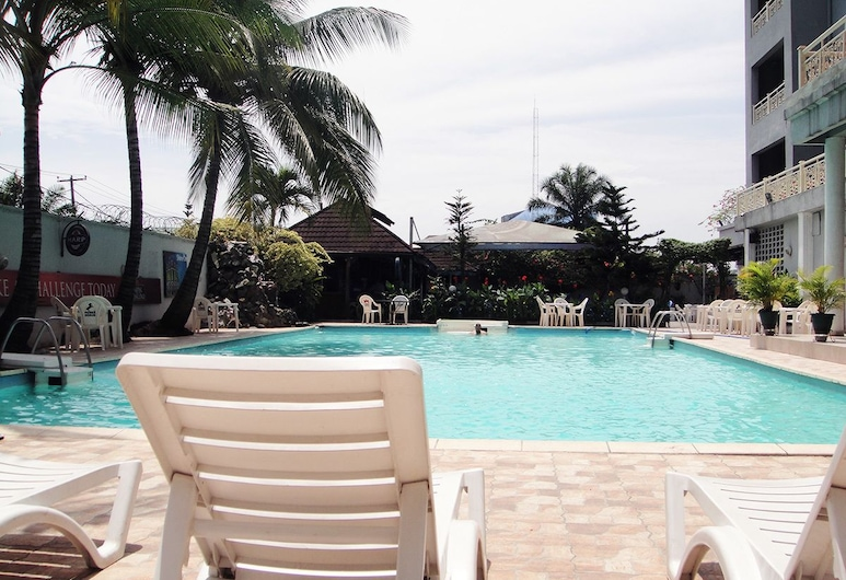 BOUGAINVILLEA HOTEL, Port Harcourt, Deginimosi terasa