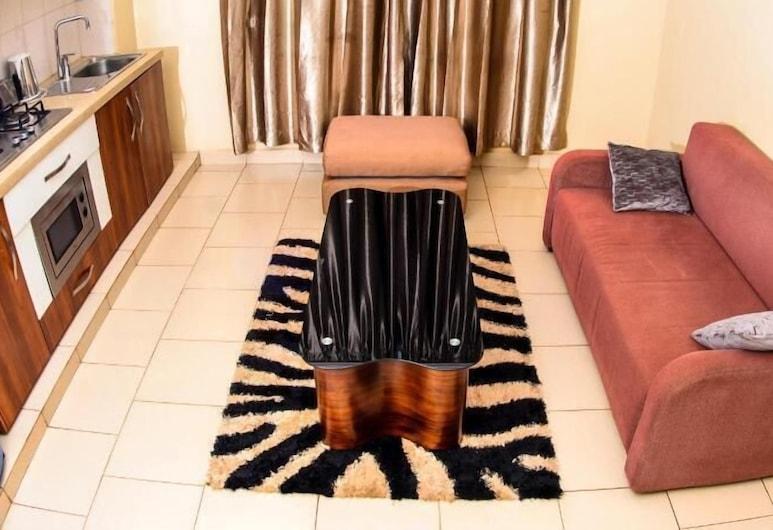 Glenville Suites, Kampala, Departamento, Sala de estar