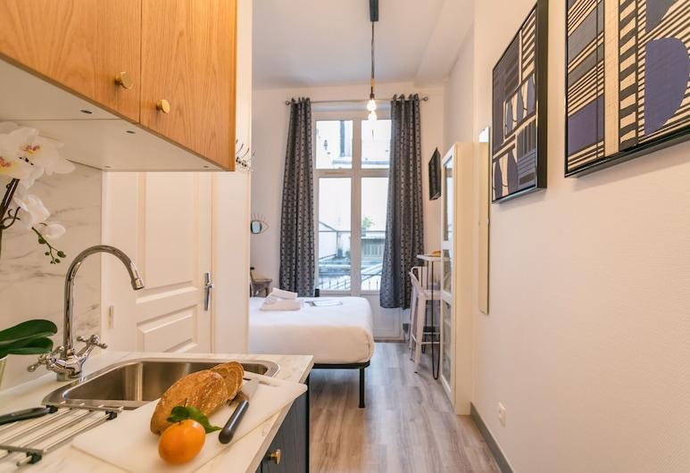 WS 瑪黑公寓酒店 - 共和國, 巴黎, 開放式客房 (12), 私人廚房