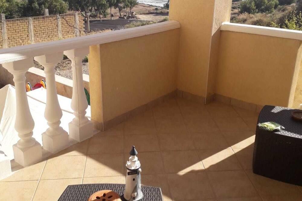 Habitación doble panorámica, balcón - Balcón