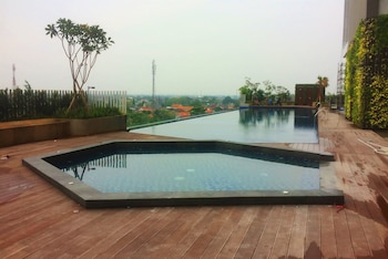 A(z) City View Studio at Springwood Residence hotel fényképe itt: Tangerang