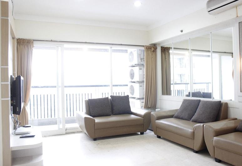 Classic 3BR At Braga City Walk Apartment, Bandung, Room, Ruang Tamu
