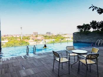 A(z) Homey 2BR Apartment at Tamansari Papilio hotel fényképe itt: Surabaya