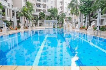 A(z) Homey 2BR at Waterplace Residence hotel fényképe itt: Surabaya