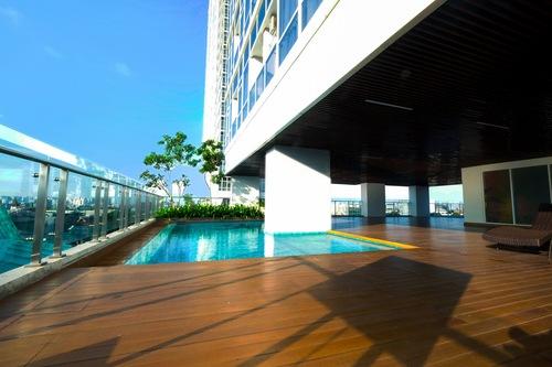 門騰公園簡單現代開放式公寓飯店/
