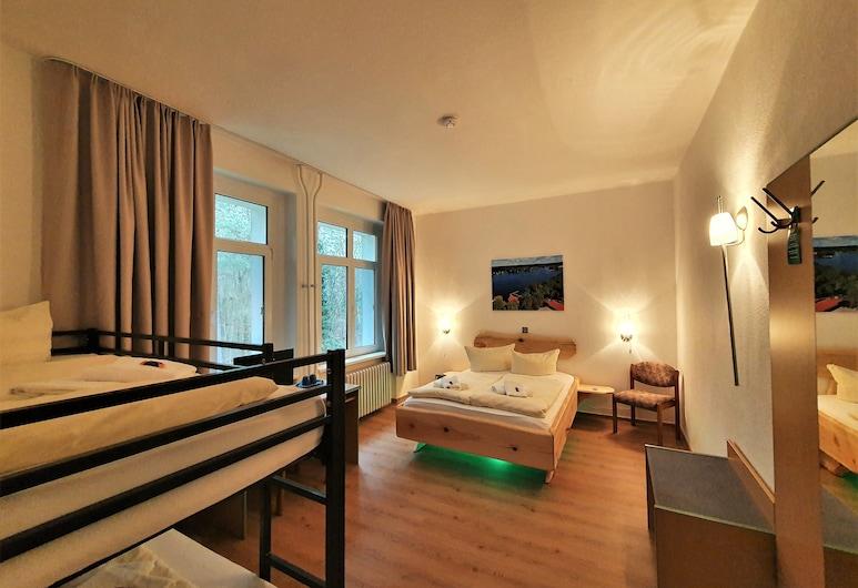 Waldhotel am See Berlin-Schmöckwitz, Βερολίνο, Comfort Τετράκλινο Δωμάτιο, Δωμάτιο επισκεπτών
