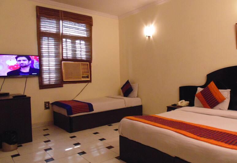 Hotel Sehrawat Inn, Yeni Delhi, Economy Tek Büyük Yataklı Oda, Oda