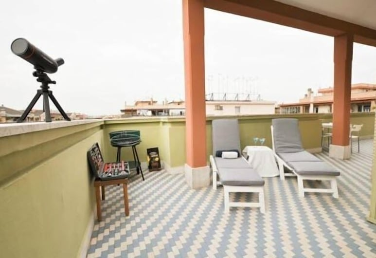 Skyline, Rome, Appartement, 1 chambre, Terrasse/Patio