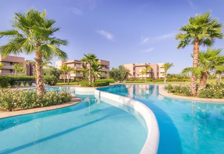 가족을 위한 휴가용 주택, 마라케시, 야외 수영장