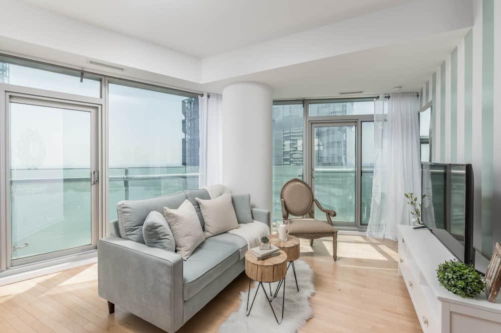 Kondominium Premium, 2 kamar tidur, pemandangan kota, menghadap laut - Foto Unggulan