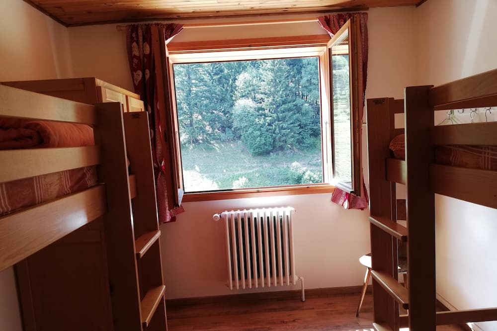 Bendrabutis, bendras vonios kambarys (4 pers) - Vaizdas į kalnus