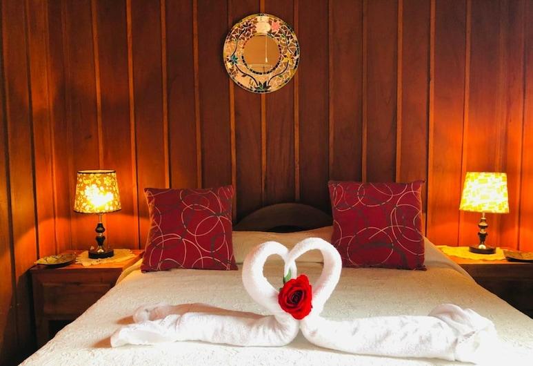 路皮塔小屋酒店, La Fortuna, 客房, 1 張標準雙人床, 私人浴室, 客房