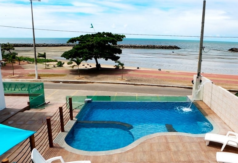 CasaMar Pousada, Paulista, Habitación Deluxe, Vista al balcón