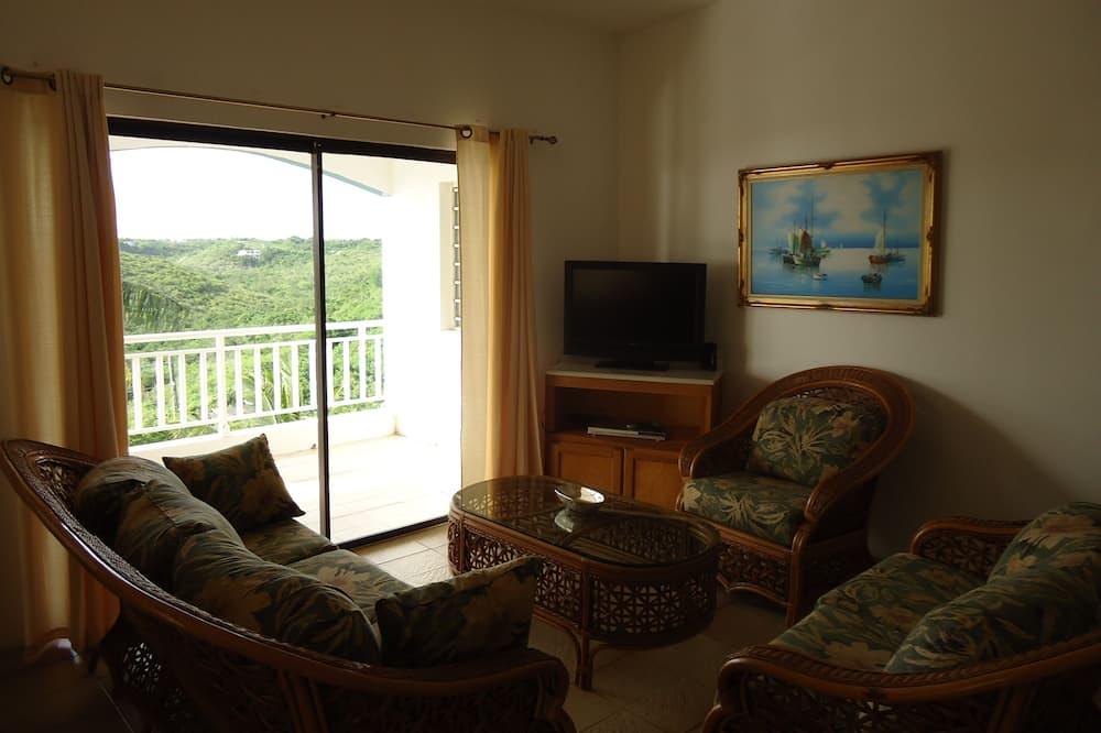 Villa, 1 habitación, vistas al mar - Zona de estar