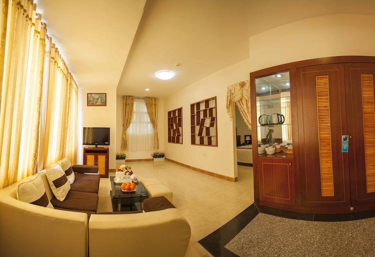 Sai Gon Bac Lieu Hotel, Bac Lieu, ห้องพรีเมียมสวีท, ห้องนั่งเล่น