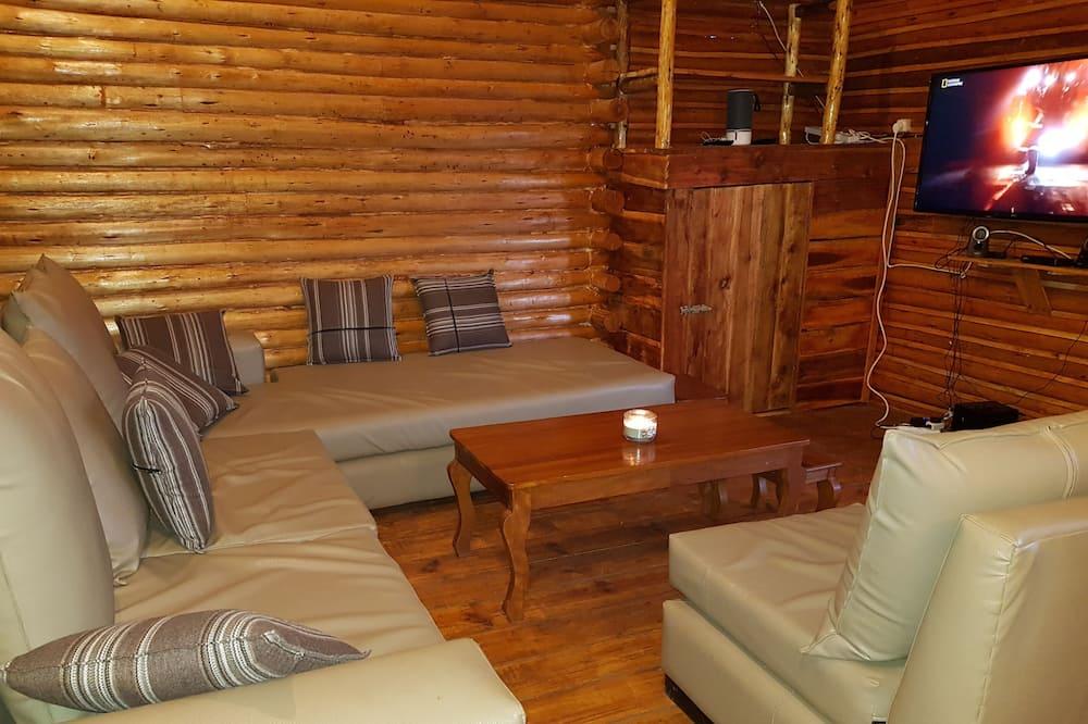 Cottage dành cho gia đình, 2 phòng ngủ, Phù hợp cho người khuyết tật, Quang cảnh hồ - Khu phòng khách