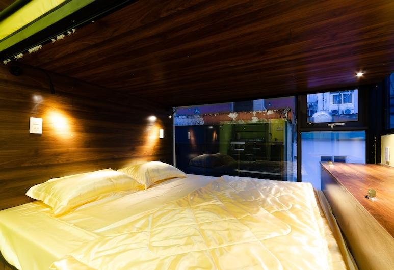 Kansai Bui Vien - Hostel, Ho Chi Minh City, Wspólny pokój wieloosobowy, koedukacyjny pokój wieloosobowy (Bed in 2-bed), Pokój