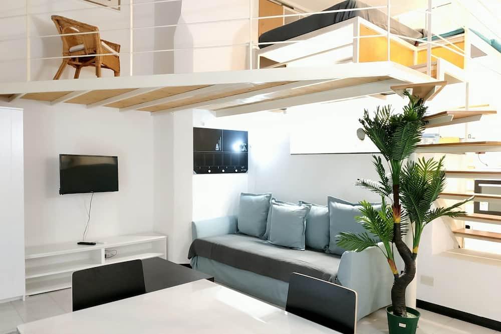 開放式客房 - 客廳