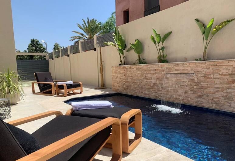 Villa Noor , Marrakech, Basen odkryty