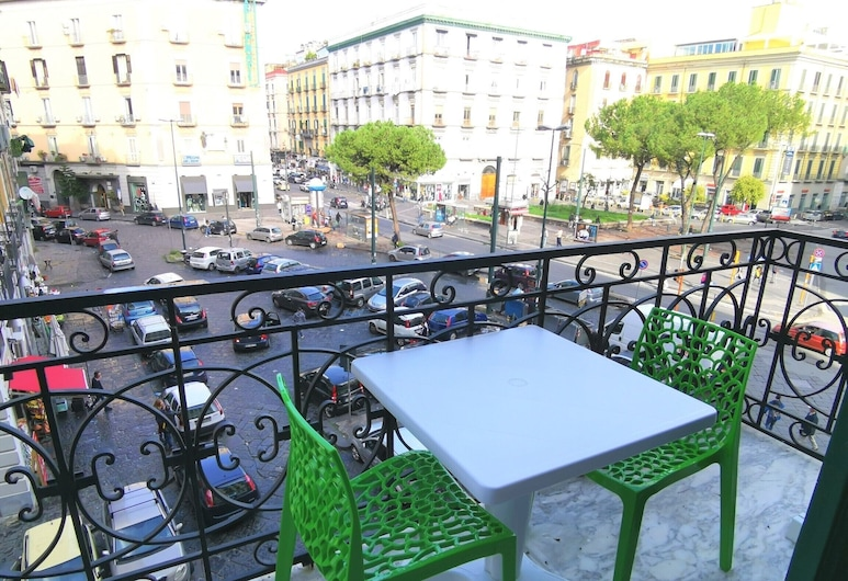 Relais del Principe, Napoli, Dobbeltrom – superior, massasjebadekar, Terrasse/veranda
